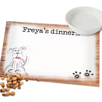 Scribble Dog Placemat